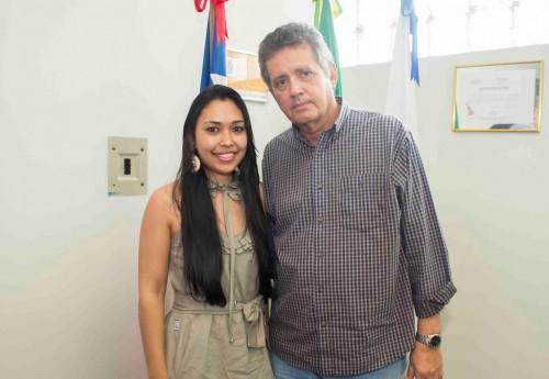 A nova secretária de saúde foi muito bem recomendada ao prefeito Zé Carlos