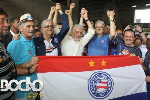 Petistas usaram o time baiano politicamente e agora o Bahia corre risco de rebaixamento por culpa da fraca diretoria ligada ao PT.