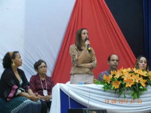 Susane Martins, protegida da secretária Sibele Nery perdeu a direção da antiga Direc-14 para Maria Genira, ligada a Rosemberg Pinto.