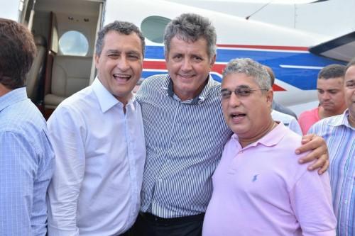 Rui Costa contou com o apoio integram de Rosemberg Pinto e do prefeito Zé Carlos na extinção das Dires.