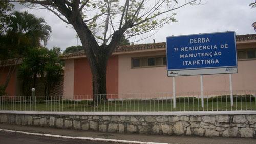 7ª Residência do Derba, em Itapetinga, será extinta, e sua atividades serão absorvidas pela