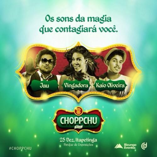 CHOPPCHU 2015 - 25 DE DEZEMBRO - ITAPETINGA-BA