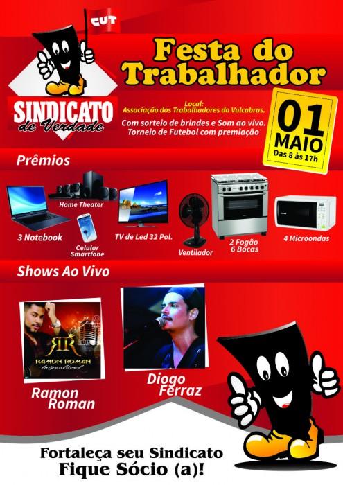 FESTA DO TRABALHADOR -