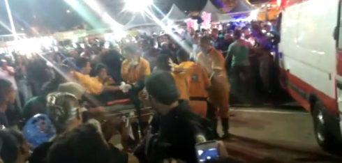 ASSASSINATO ACONTECEU EM MEIO A UMA MULTIDÃO DE FIÉIS QUE PARTICIPAVAM DO EVENTO NO PARQUE POLIESPORTIVO DA LAGOA