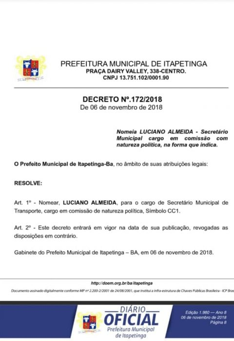 luciano-480x700 PREFEITO RODRIGO HAGGE EXONERA E REMANEJA SECRETÁRIOS MUNICIPAIS Região